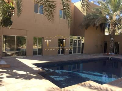 FULLY UPGRADED PRIVATE POOL AND JACUZZI HATTAN TYPE (4Bedroom+Maid's) Partial Lake View