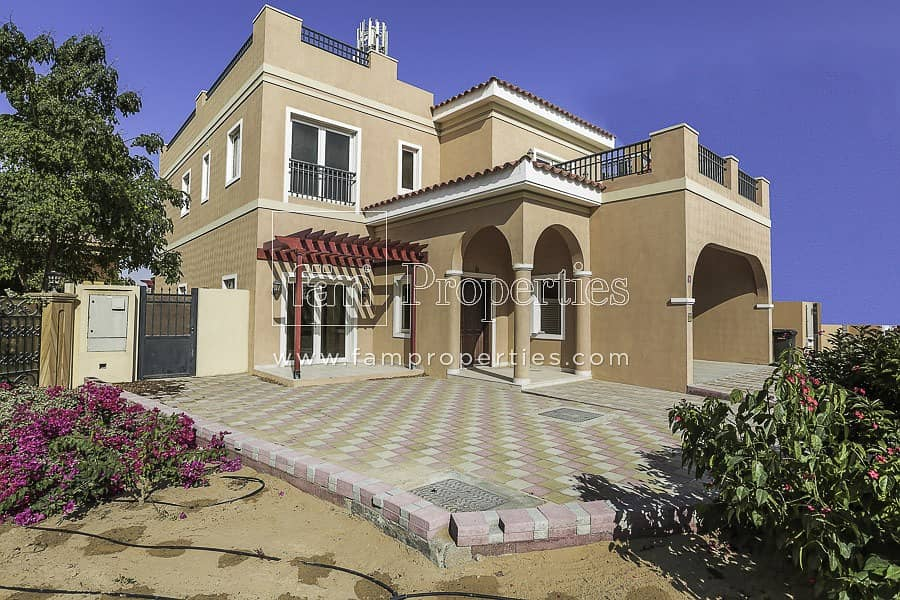 2 5BR Mazaya A2 in Aldea Close to Spinneys