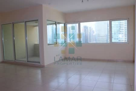 2 Bedroom Apartment for Rent in Dubai Marina, Dubai - Unfurnished - Marina view - Big 2 Beds with Study/Maids