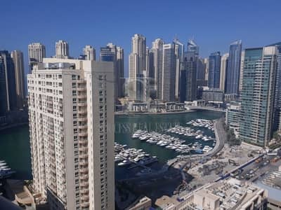 1 Bedroom Apartment for Rent in Dubai Marina, Dubai - One BR for Rent in Dream Tower 1 - AED 62 K