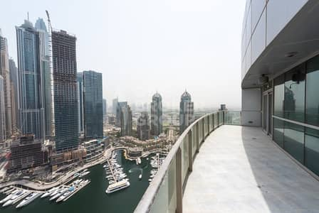 4 Bedroom Flat for Sale in Dubai Marina, Dubai -  Breathtaking Palm View