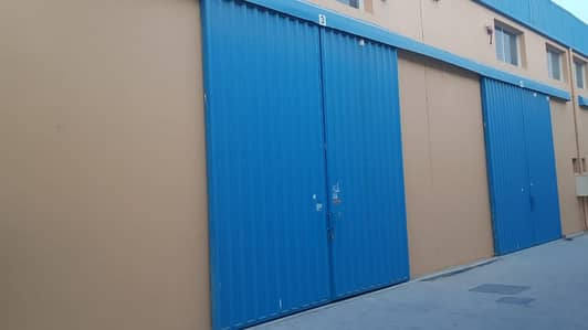 Warehouse for Rent in Al Jurf, Ajman - Hot Offer Brand New Warehouse Available With Fewa 1650 Sqft For Rent in Jurf Near China Mall