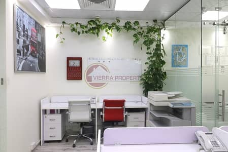 Office for Rent in Motor City, Dubai - Vacant Fully Fitted Office in Motor City