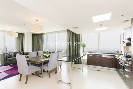 2 Bedroom Hotel Apartment for Rent in Sheikh Zayed Road, Dubai - Exclusive | Fully Furnished | Serviced .