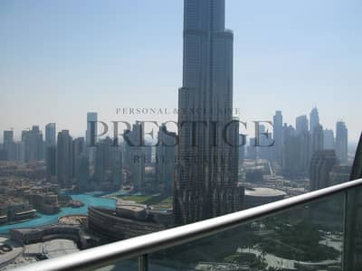 2 Bedroom Flat for Rent in Downtown Dubai, Dubai - Fully Furnished & Serviced | Burj Khalifa & Fountain View