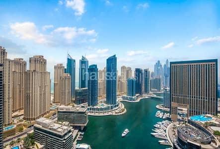 4 Bedroom Penthouse for Rent in Dubai Marina, Dubai - 000 sq.ft   Top Floor   Private Pool