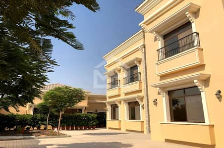 5 Bedroom Villa for Sale in Al Bahia, Abu Dhabi - 5 BR Villa w/ Separate Majlis & Quarters