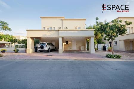 2 Bedroom Villa for Rent in The Springs, Dubai - End Unit - Type 4E - Back To Back