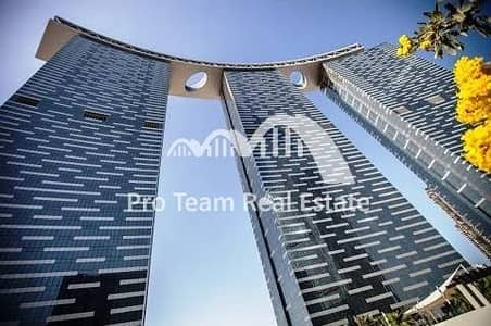 Sea View 1BR APT for Sale in Gate Towers