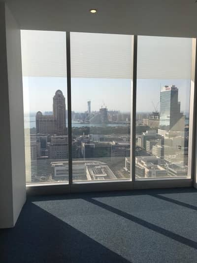 Office for Rent in Dubai Media City, Dubai - High Floor Stunning View on Half Floor Fitted Office in Arenco Tower