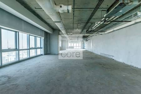 Office for Rent in Barsha Heights (Tecom), Dubai - Spacious shell and core office in The One