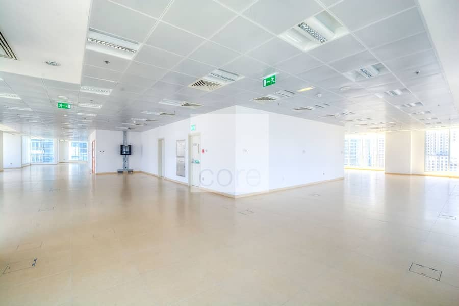 Fitted full office I Floor vacant I Rent