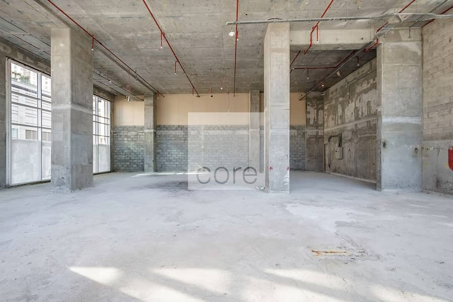2 Shell and core retail vacant for Rent