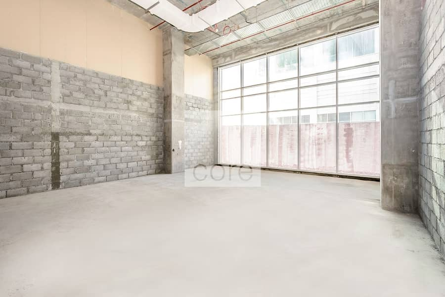 Shell and Core retail for rent I 1130 sqft