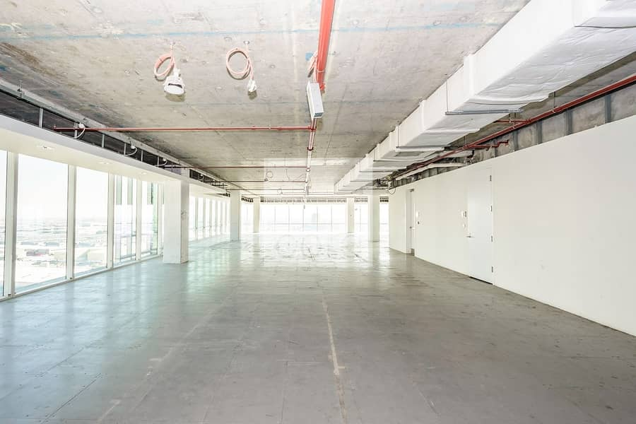 Shell and core Office space I 8206 sqft