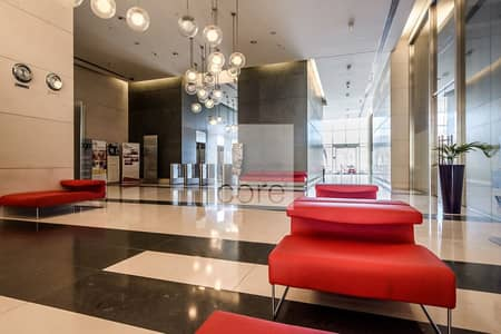 Office for Rent in Downtown Jebel Ali, Dubai - Mid floor fitted office available for rent