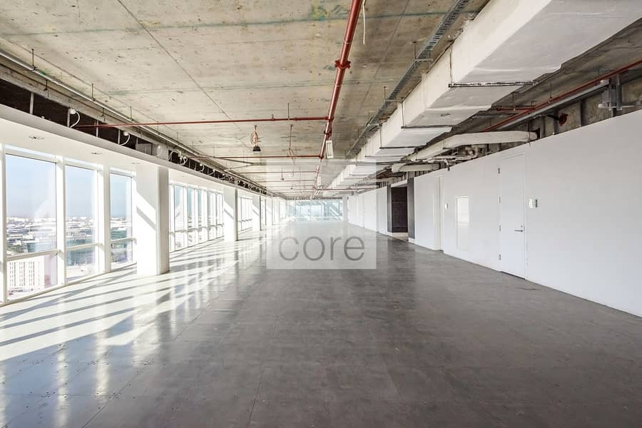 Shell and Core office available I Grade A