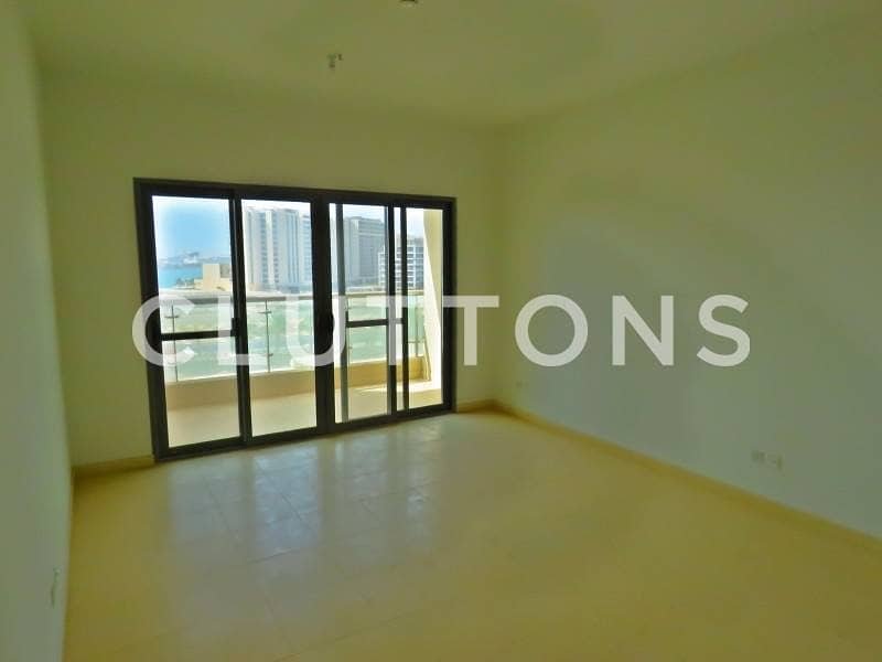 6 Upcoming two bedroom unit with balcony in Amwaj