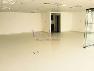 SPACIOUS OPEN PLAN OFFICE IN JUMEIRAH BUSINESS CENTRE 1