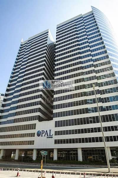 Very Large Office w/ 3 Parking for sale - Opal Tower - AED2.2MN