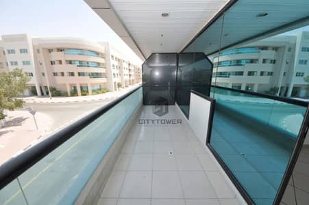 1 Bedroom Flat for Rent in Al Hudaiba, Dubai - CHILLER FREE SPACIOUS 1BHK IN HUDAIBA DUBAI.