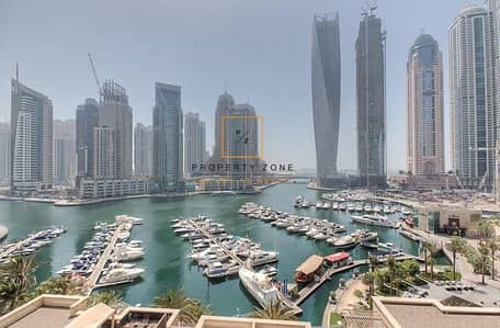 3 Bedroom Flat for Sale in Dubai Marina, Dubai - Full Marina View 3 BR + Maids in Al Anbar