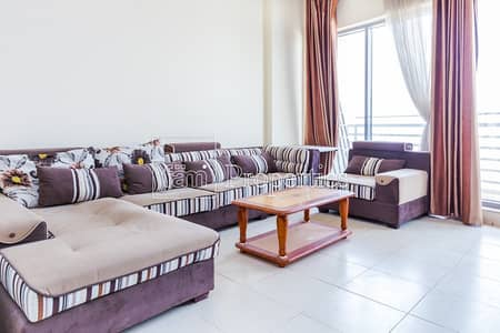 1 Bedroom Apartment for Rent in Dubai Residence Complex, Dubai - Big and Furnished 1 BHK wtih Big Balcony