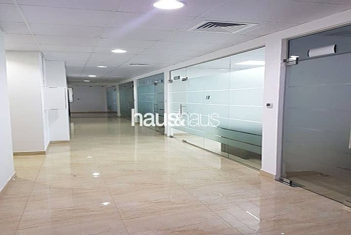 Full Floor   7 Fitted Offices   Rented  