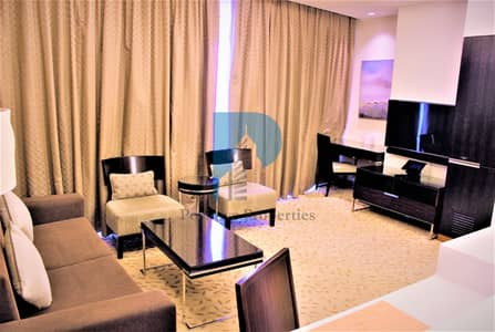 1 Bedroom Flat for Rent in Downtown Dubai, Dubai - Furnished | Balconies|Vacant |High Floor