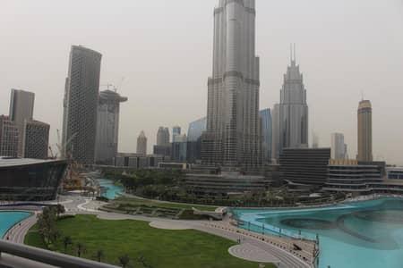 3 Bedroom Apartment for Rent in Downtown Dubai, Dubai - Full Burj and Fountain view