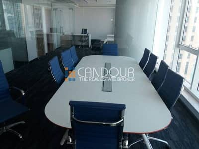 Full Lake View Ready Office in Churchill Tower Furnished