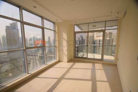3 Bedroom Apartment for Rent in Dubai Marina, Dubai - 3 Beds + Maid's Room|Skyview Tower|Dubai Marina