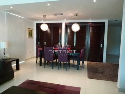 2 Bedroom Townhouse for Rent in Al Reem Island, Abu Dhabi - Furnished 2BR Townhouse in Marina Square