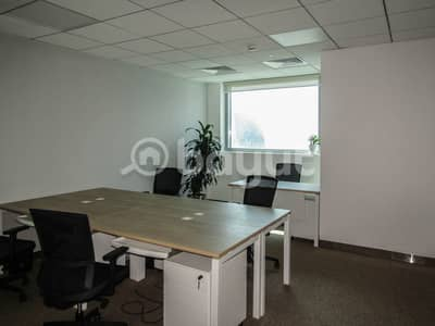 Office for Rent in Downtown Dubai, Dubai - Dedicated Co - Working  space in a private office in 48 Burj Gate Tower