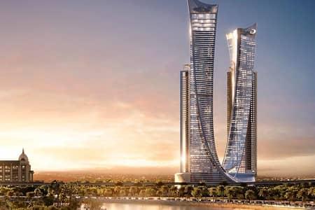 Studio for Sale in Sheikh Zayed Road, Dubai - Buy new Luxury Studio Apartment with overlooking Dubai Canal- Aykon City
