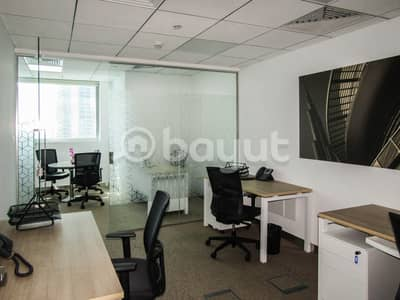Office for Rent in Downtown Dubai, Dubai - Spacious Executive Office with superior view