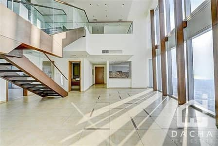 4 Bedroom Flat for Rent in Downtown Dubai, Dubai - Modern and Spacious Duplex Penthouse