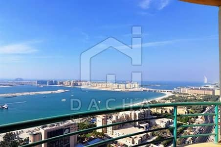 3 Bedroom Flat for Sale in Dubai Marina, Dubai - Large 3 bd on a high floor sea view in Marina Crown