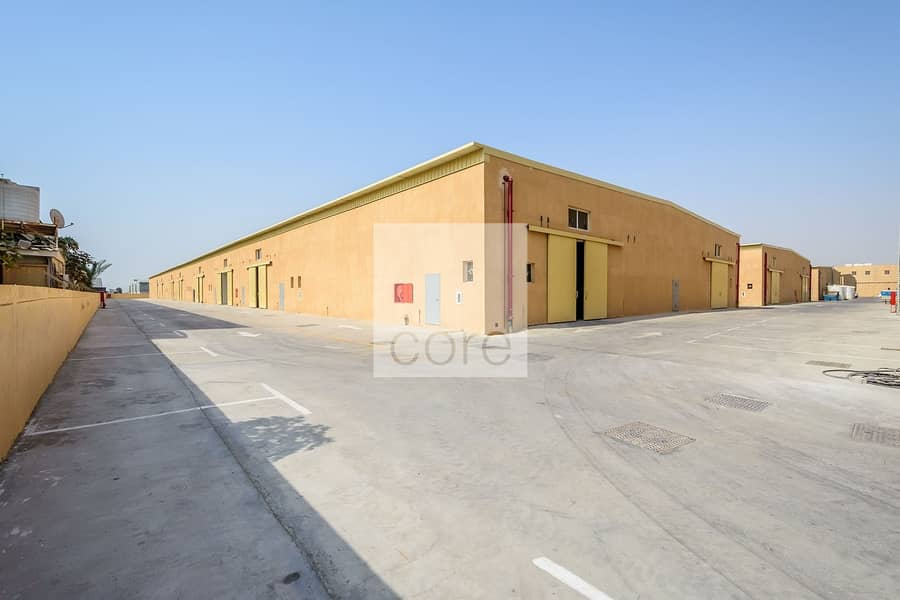 Fitted warehouse available Mussafah Area