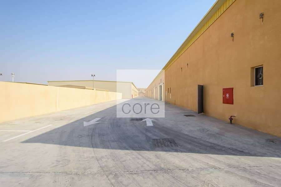 10 Fitted warehouse available Mussafah Area
