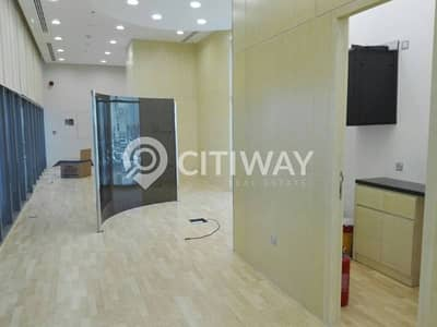 Fully fitted retail space with attached pantry in Business bay