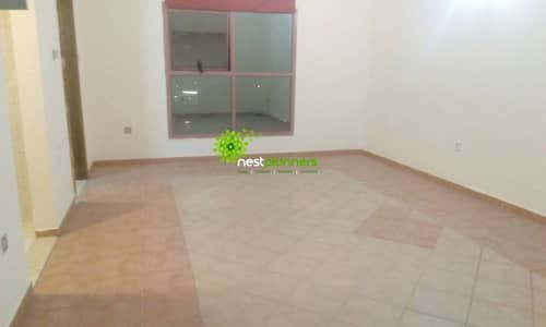 Clean and spacious studio for rent in Al Nahda