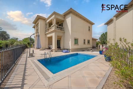 4 Bedroom Villa for Sale in Jumeirah Islands, Dubai - Entertainment Foyer | Spanish Style