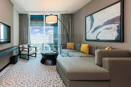 Hotel Apartment for Rent in Sheikh Zayed Road, Dubai - Modern and Luxurious Serviced Apt. with City view
