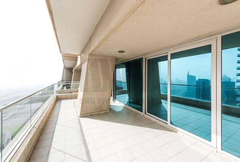 Vacant 3BR with Media City view