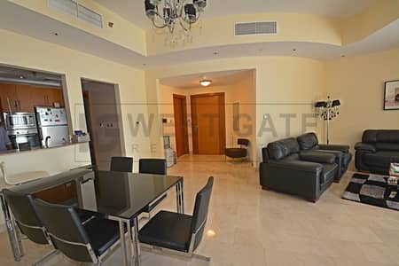 2 Bedroom Apartment for Rent in Dubai Marina, Dubai - Fully Furnished | Well Maintained | Vacant