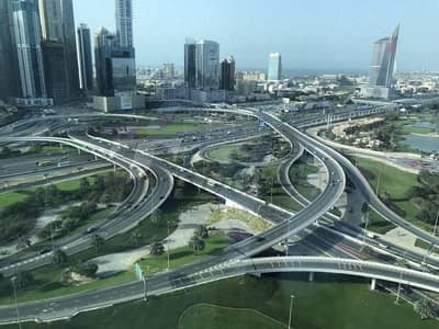 Office for Rent in Jumeirah Lake Towers (JLT), Dubai - SZR & Golf Facing Panoramic Fitted Office