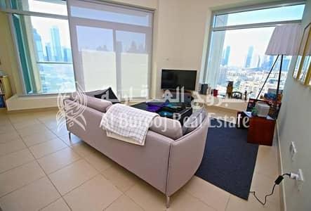 2 Bedroom Flat for Sale in Downtown Dubai, Dubai - Downtown-Best Unit w/ Burj Khalifa View-Rented 2BR