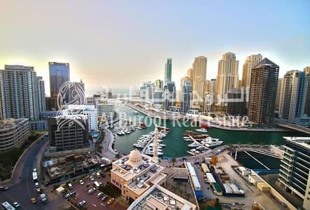 1 Bedroom Flat for Sale in Dubai Marina, Dubai - Exclusive Living in Dubai Marina with Full Sea View