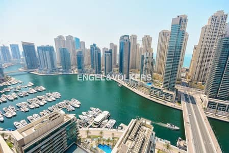3 Bedroom Penthouse for Rent in Dubai Marina, Dubai - Luxury living in Penthouse in Al Majara.